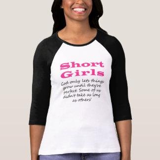 Short Girls Raglan Qtr Sleeves T-Shirt