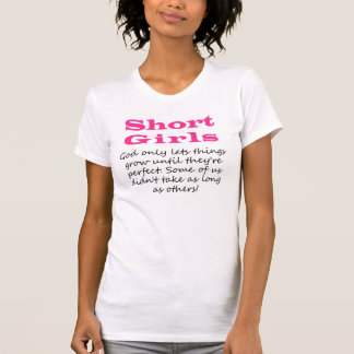 Short Girls T-Shirt Tee Shirts