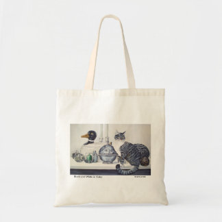 Short Haired Tabby Cat Tote Bag
