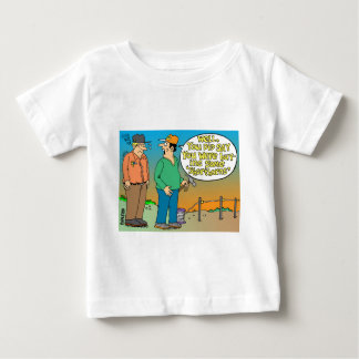 SHORT HORN CARTOON / FARMER HUMOR BABY T-Shirt