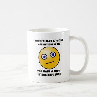 Short Interesting Span Funny Mug