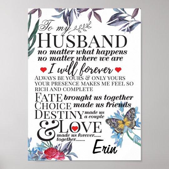 Short love Quotes for him for boyfriend Poster | Zazzle.com