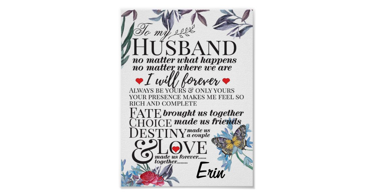 Short love Quotes for him for boyfriend Poster   Zazzle.com