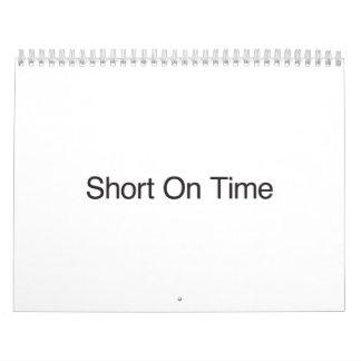 Short On Time Calendar