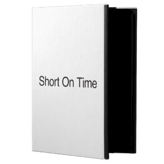 Short On Time iPad Air Cover