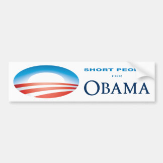 Short People for Obama bumper sticker Car Bumper Sticker