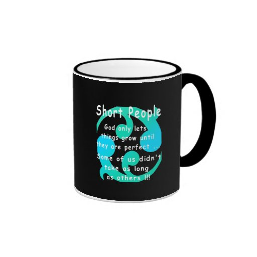 Short People Funny Revenge Design. Coffee Mug