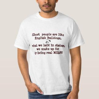 Short People Humor TShirt