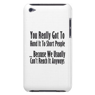 Short People Quote iPod Case-Mate Case
