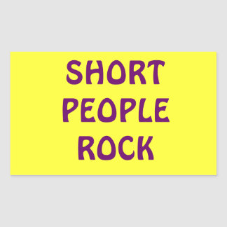 Short People Rock sticker