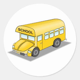 Short School Bus Stickers