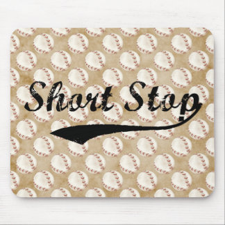 short stop mouse pad