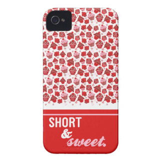 Short & Sweet iPhone 4 Case-Mate Cases