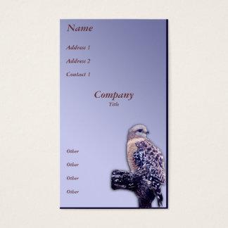 Short-tail Hawk Business Card
