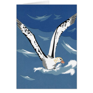 Short-Tailed Albatross Greeting Card