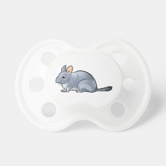Short Tailed Chinchilla Pacifier