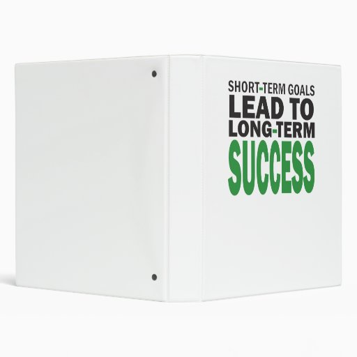 short and long term factors leading Objectives and goal setting by erica olsen long  what made it useful as a future reference guide was a simple definition of long-term and short-term planning, and.