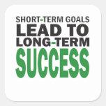 Short-term Goals lead to Long-Term Success/Green Sticker