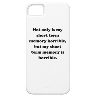 Short Term Memory iPhone 5 Covers
