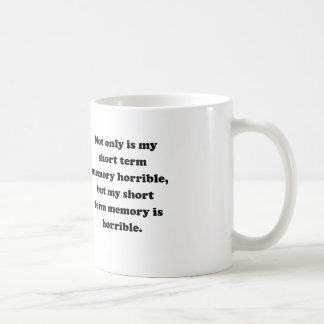Short Term Memory Mugs