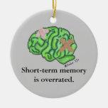 """Short-term memory"" ornament"