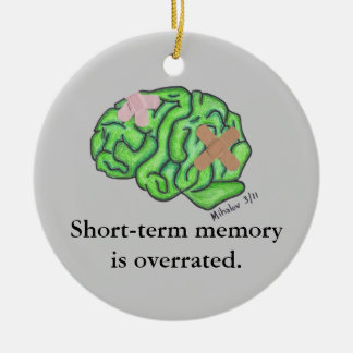 """Short-term memory"" ornament"