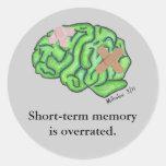 """Short-term memory"" stickers"