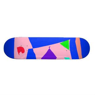 Short Time Holiday Cold Red Leaf Surface Custom Skateboard