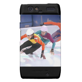 Short Track Speed Skating Motorola Droid RAZR Covers