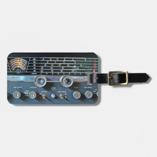 Short Wave Radio Receiver Luggage Tag