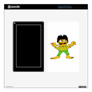 short wolfman halloween graphic.png kindle fire skin