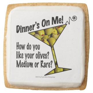 SHORTBREAD COOKIES Dinner! Olives? Medium or Rare?