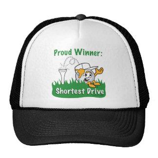 Shortest Drive Hole Prize For Golf Tournament Trucker Hat