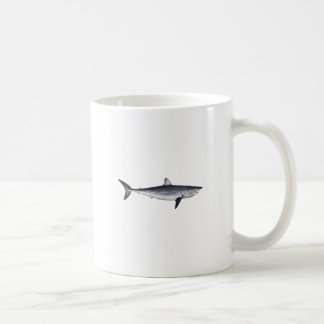 Shortfin Mako Shark Illustration Coffee Mug