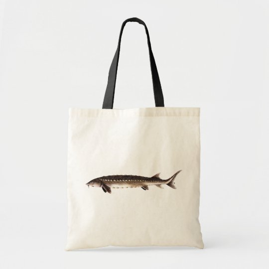 Shortnose Sturgeon - Acipenser brevirostrum Tote Bag