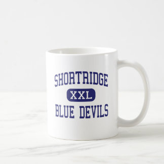 Shortridge Blue Devils Middle Indianapolis Classic White Coffee Mug