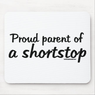 Shortstop Proud Parents Mouse Pad