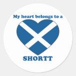 Shortt Stickers