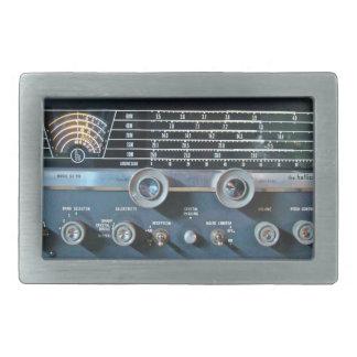 Shortwave Ham Radio Receiver Belt Buckle