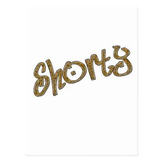 shorty gold postcard
