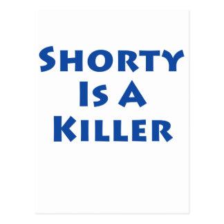 Shorty Is A Killer Postcard