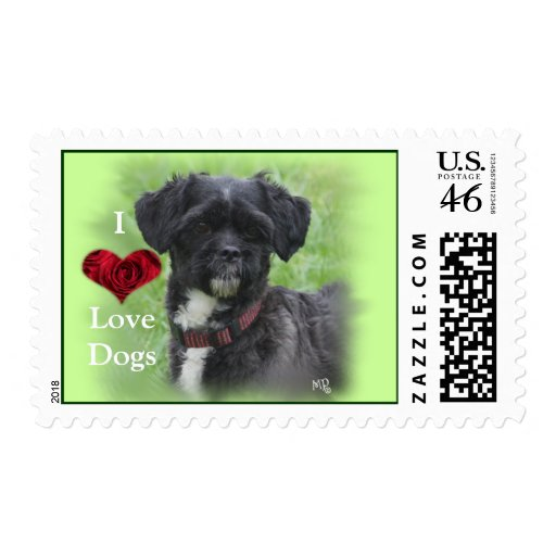Shorty Postage Stamp 1- customize