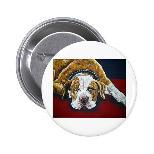 shorty's dog Hercules 2 Inch Round Button