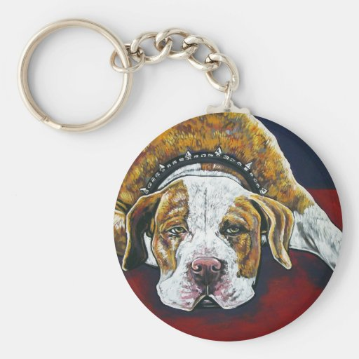 shorty's dog Hercules Keychain