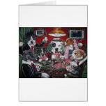 shorty's dogs playing poker greeting card
