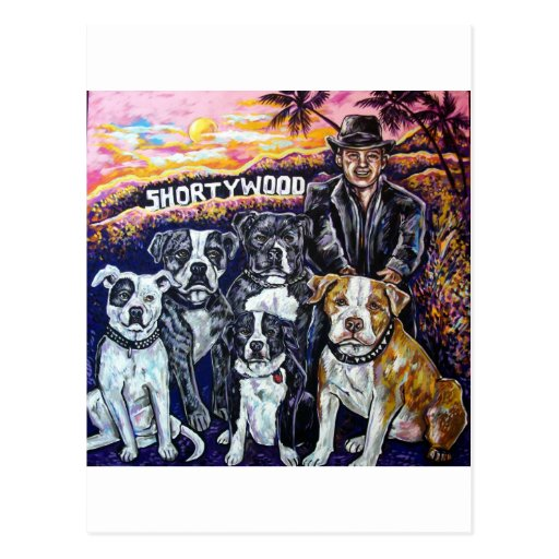 shortywood post card
