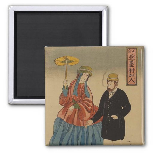 Shōsha - Amerikajin Imán De Nevera