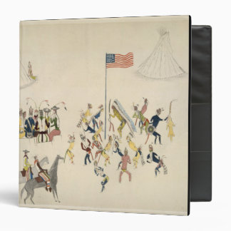 Shoshone dance participated in only by men (pigmen 3 ring binder