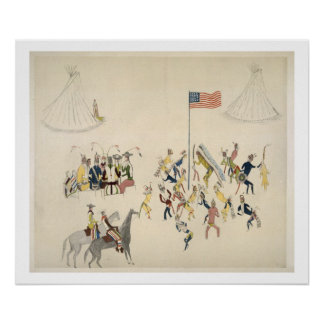 Shoshone dance participated in only by men (pigmen poster