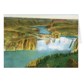 Shoshone Falls Card